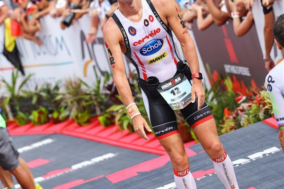 12 OCTOBER 2016 – FREDERIK VAN LIERDE 10th place at world championship IRONMAN® in HAWAII