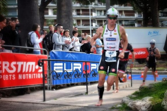 13 APRIL 2014 – FREDERIK VAN LIERDE 4TH PLACE AT IRONMANⓇ 70.3 in CANNES