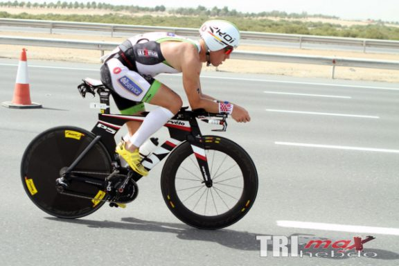 15 MARCH 2014 – FREDERIK VAN LIERDE 4TH PLACE AT THE ABU DHABI INTERNATIONAL TRIATHLON