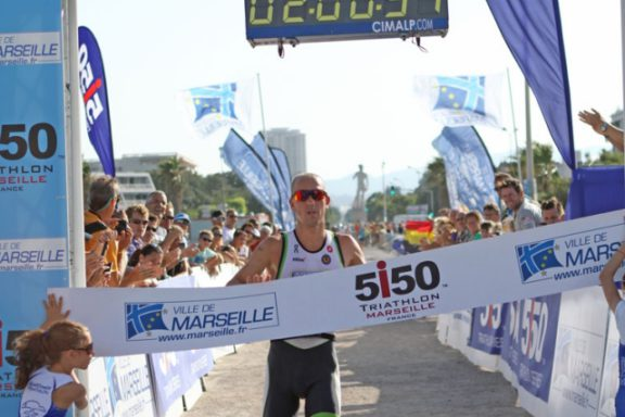 28 JULY 2013 – FREDERIK VAN LIERDE 2ND PLACE AT TRIATHLON IN 5150 MARSEILLE