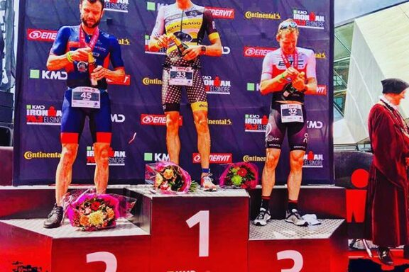 17 June 2018 – Win for Rudi Von Berg and 3th place for Bart Aernouts at IM 70.3 Elsinore EC