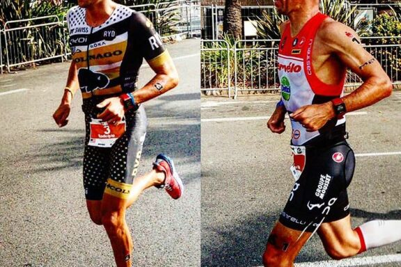 16 September 2018 – Victory for Rudi Von Berg at Ironman 70.3 Nice, Frederik Van Lierde 2nd