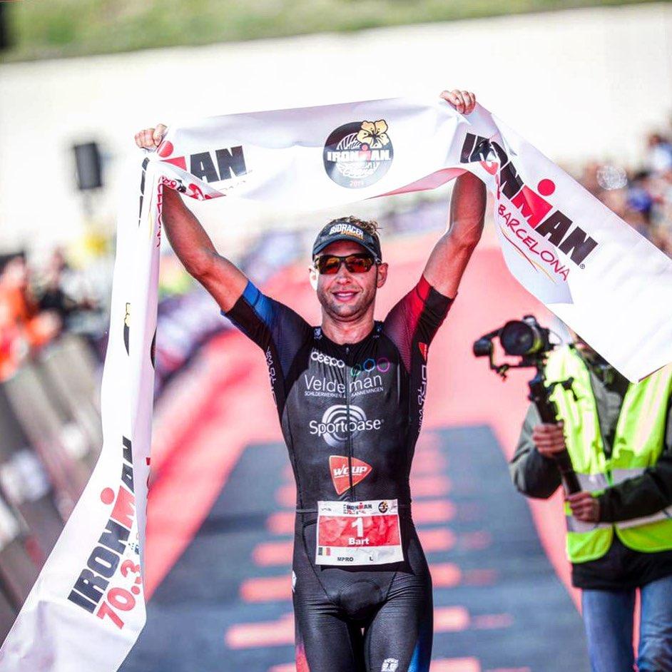 Bart Aernouts Ironman 70.3 Barcelona