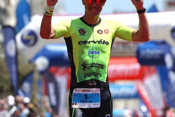19 June 2019 – Frederik Van Lierde wins Ironman 70.3 Les Sables d'Olonne