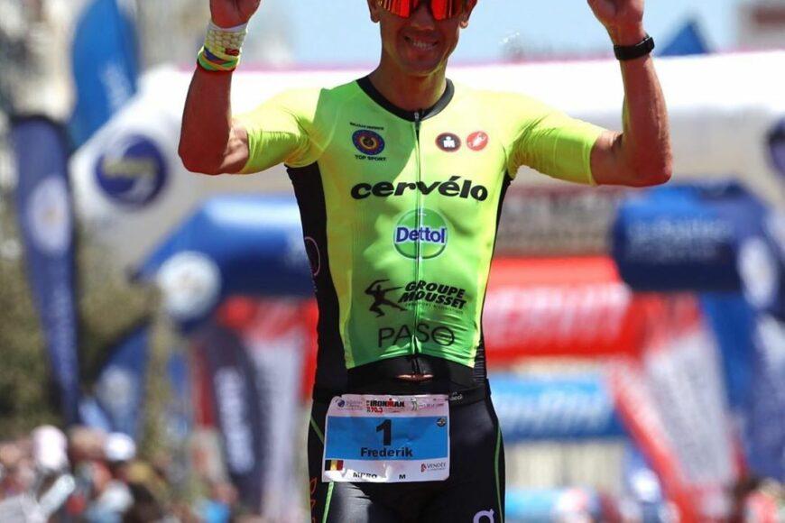 Frederik Van Lierde Ironman 70.3 Les Sables d'Olonne