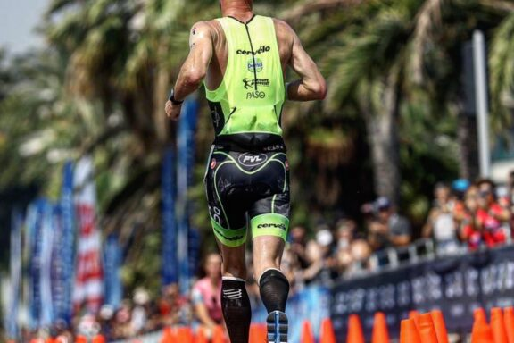 30 June 2019 – Third place for Frederik Van Lierde at hot Ironman Nice
