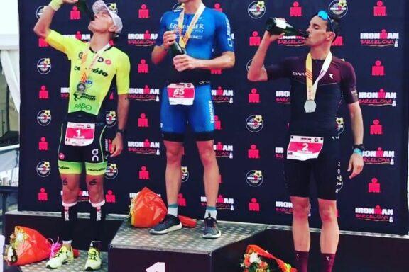 6 Oktober 2019 – Frederik Van Lierde finishes 2nd at Ironman Barcelona