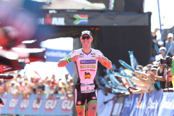 31 March 2015 – Frederik Van Lierde Victory AT Ironman® African Championship in South Africa