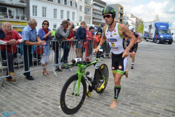 24 AUGUST 2014 – FREDERIK VAN LIERDE VICTORY IN DEINZE ½ TRIATHLON