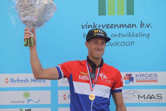 21 May 2017 – Martijn Dekker victory at half distance triathlon in Nieuwkoop