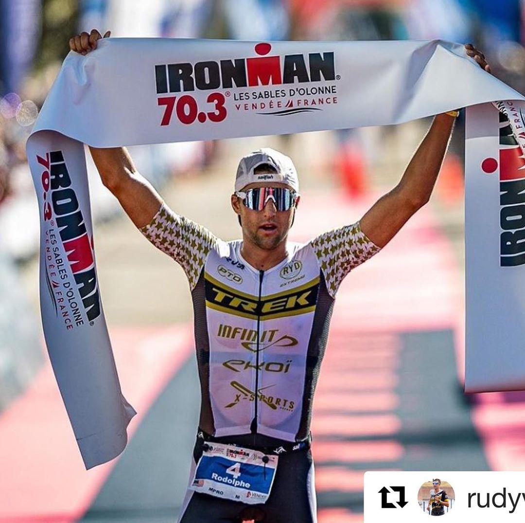 Rudi Von Berg Ironman 70.3 Les Sables d'Olonne