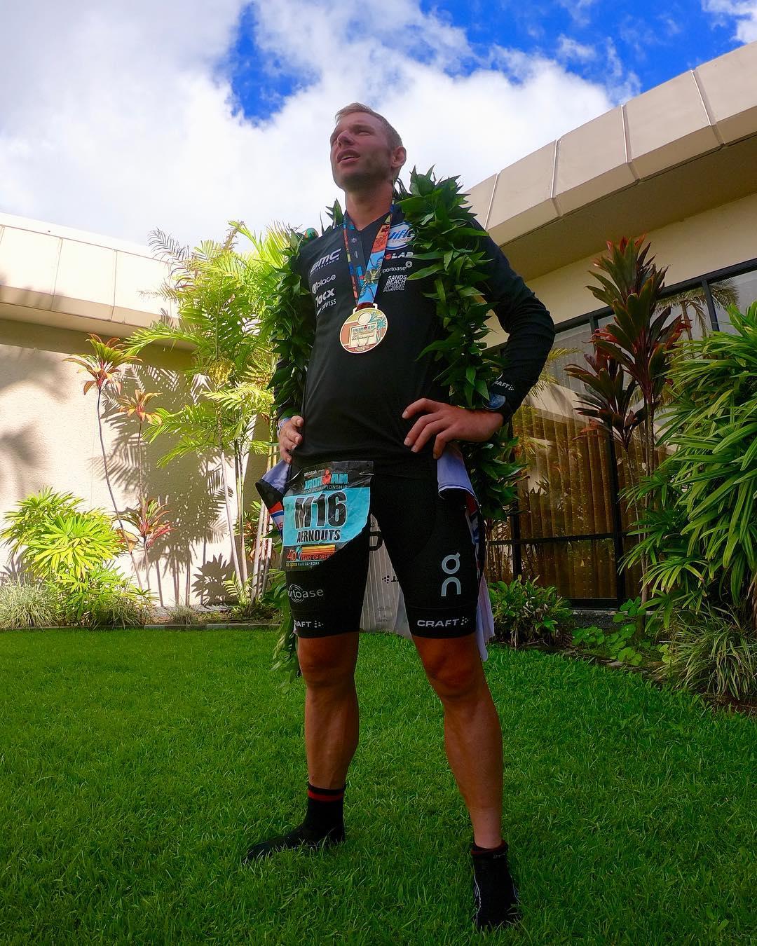 Bart Aernouts Ironman Kona