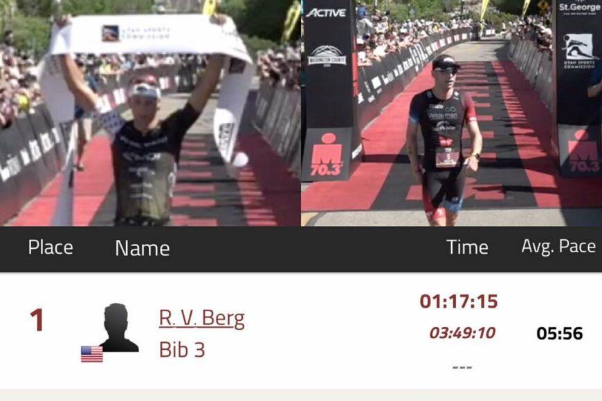 Ironman St George Rudi Von Berg Bart Aernouts