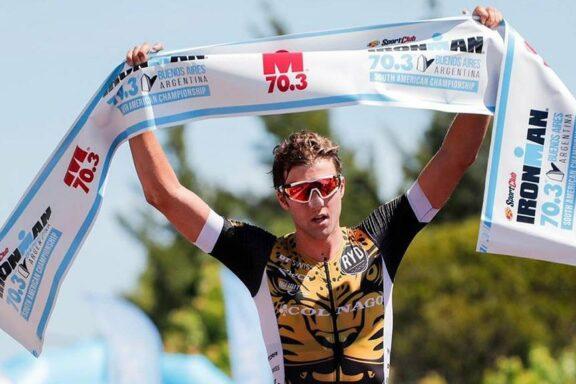 3 November 2019 – Victory for Rudi Von Berg at Ironman 70.3 Buenos Aires